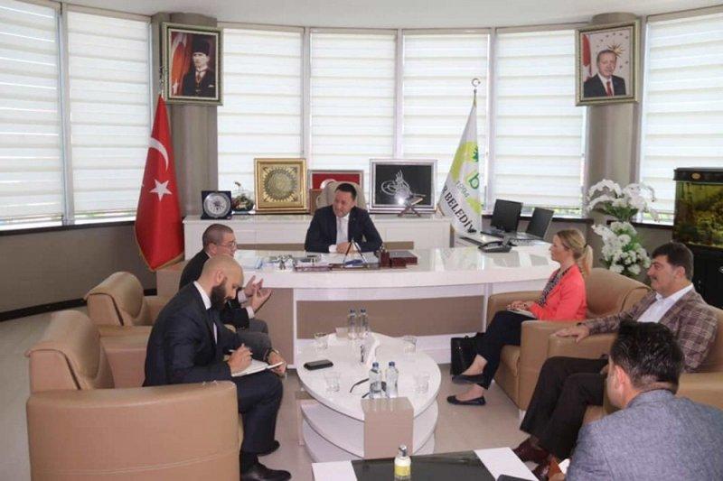 ABD Adana Konsolosluğundan Başkan Beyoğlu'na ziyaret