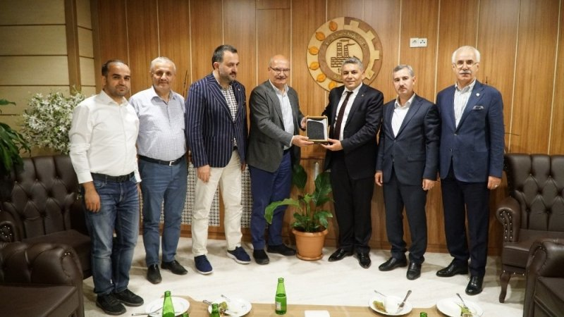 Ankara Ticaret Odası'ndan MTSO'ya ziyaret