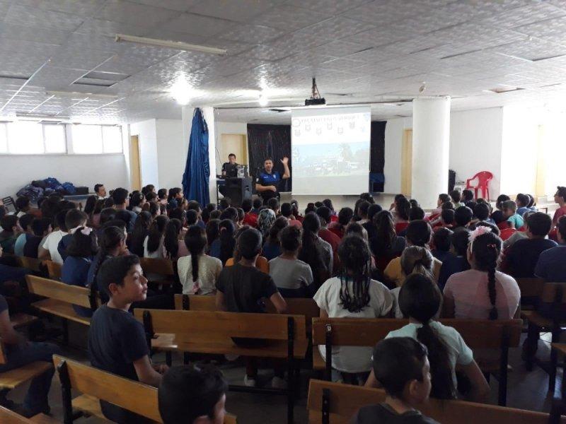Antalya Polisi 280 öğrenciye seminer verdi