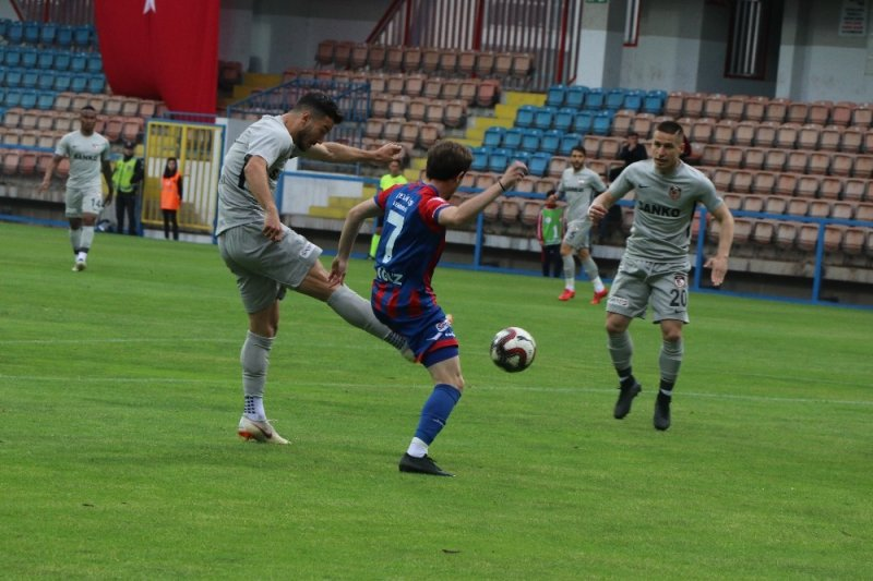 Spor Toto 1. Lig: Kardemir Karabükspor: 1 - Gazişehir Gaziantep: 6