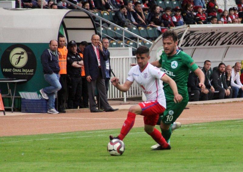 Spor Toto 1. Lig: Giresunspor: 0 - Altınordu: 1 (İlk yarı sonucu)
