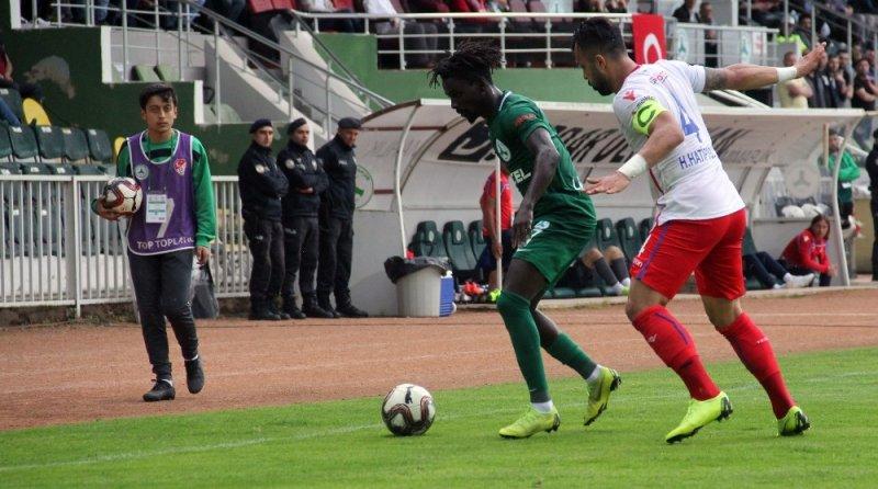 Spor Toto 1. Lig: Giresunspor: 3 - Altınordu: 1 (Maç sonucu)