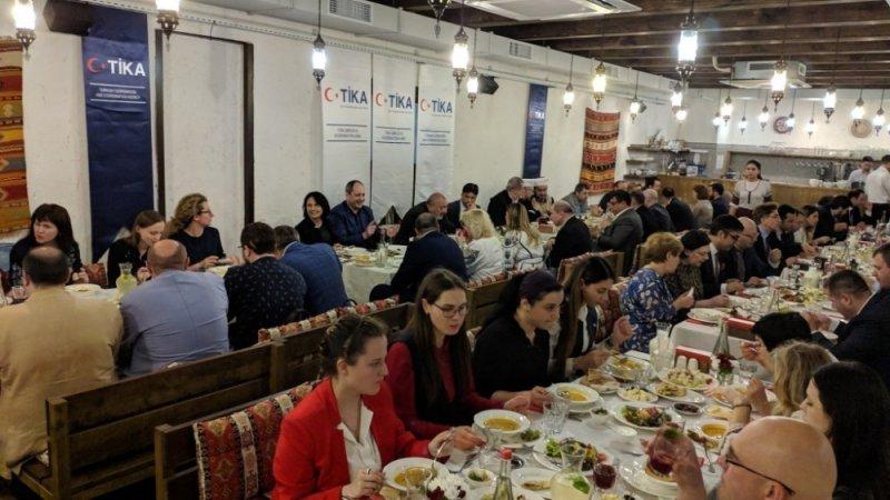TİKA'dan Ukrayna'da iftar programı
