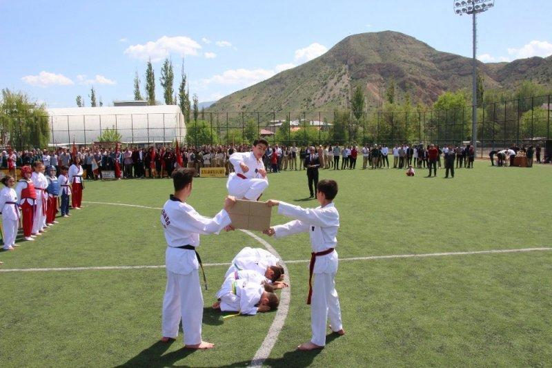 Oltu'da 19 Mayıs kutlamaları