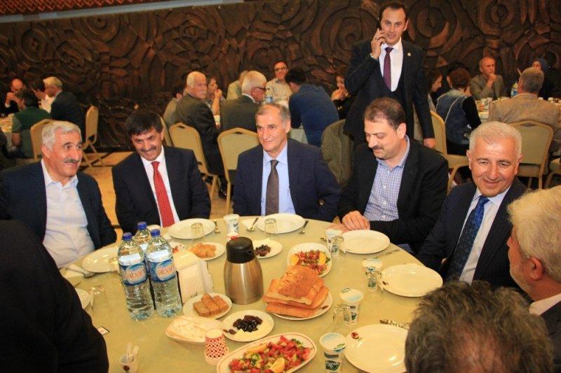 Ankara'daki Erzincanlılar iftarda biraraya geldi