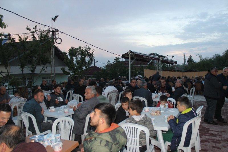 Gaziler köyünde iftar