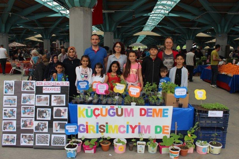 Genç girişimciler pazarda