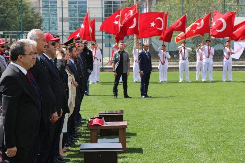 Nevşehir'de 19 Mayıs Atatürk'ü Anma, Gençlik ve Spor Bayramı, coşkuyla kutlandı