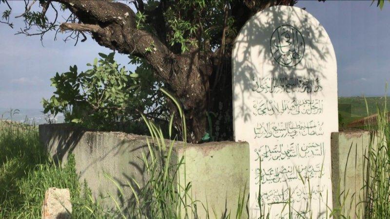 500 yıllık mezar görenleri hayrete düşürüyor