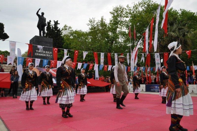 Sinop'ta 19 Mayıs kutlaması
