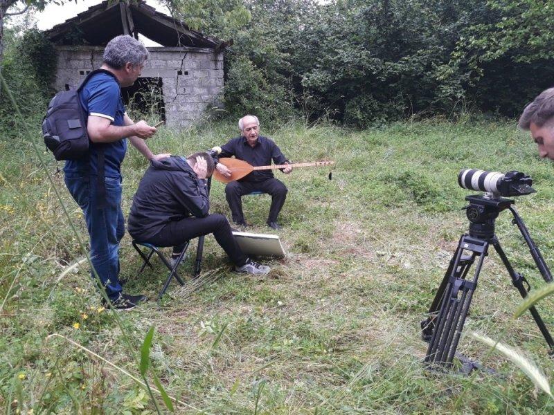 Mevlüt Toplu belgeselinin çekimleri yapıldı