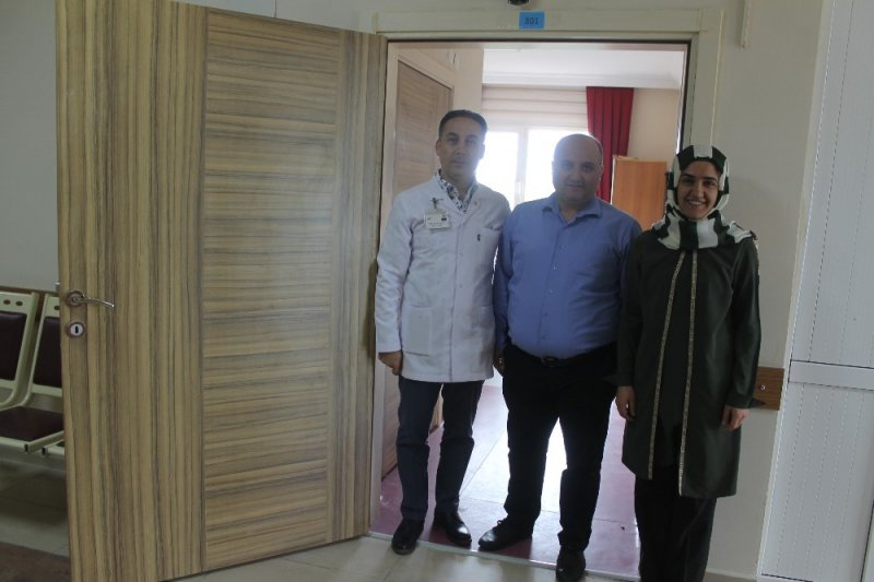 Manyas'ta palyatif bakım ünitesi hizmete girdi