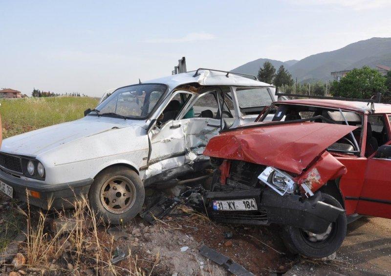 Gaziantep'te kaza: 4 yaralı