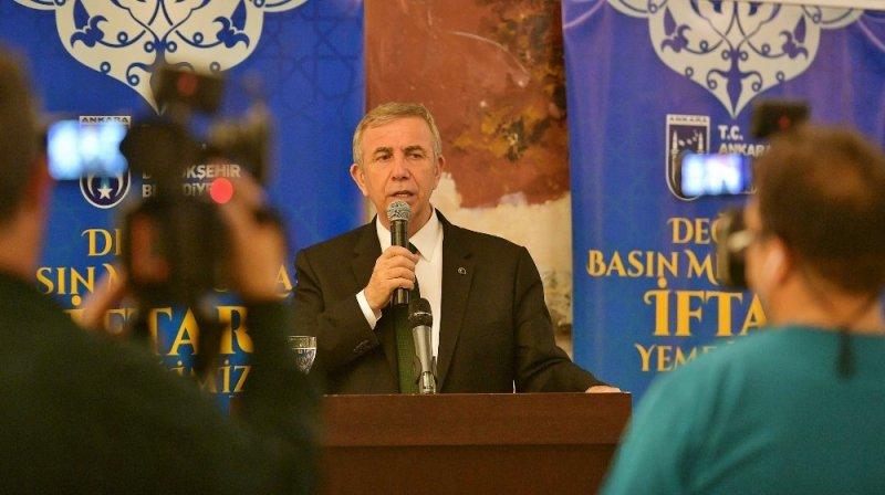 Ankara Büyükşehir Belediye Başkanı Mansur Yavaş: