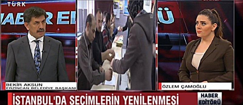 Erzincan Belediye Başkanı Aksun, Cumhur ittifakına destek için İstanbul'a gitti