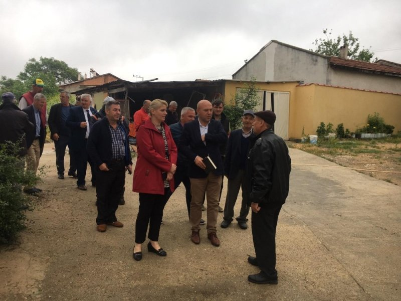 Edirne'nin belediye başkanı talepleri yerinde dinliyor