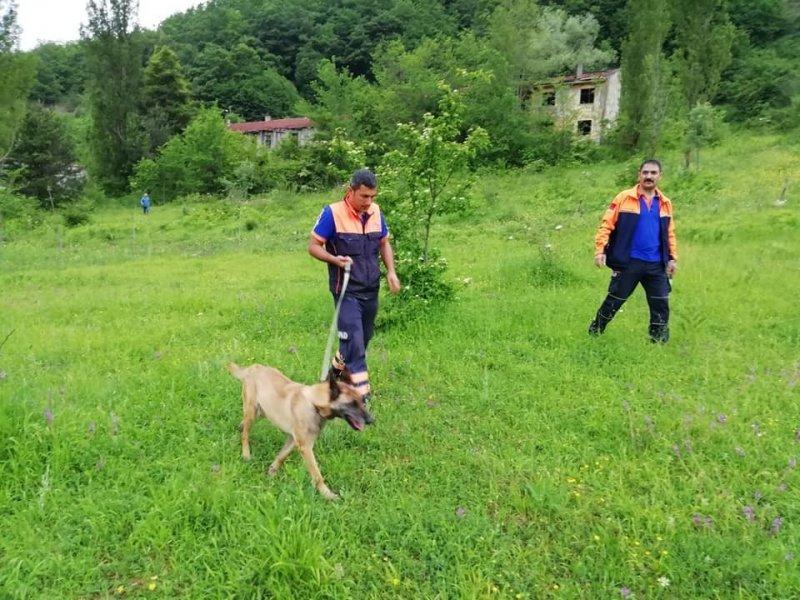 Kayıp şahıs K9 köpeğiyle aranıyor