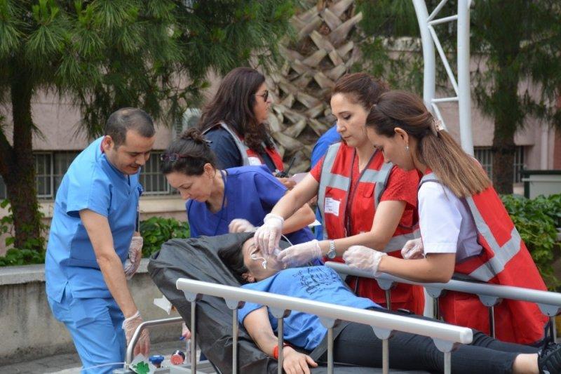 ADH'de afet ve acil durum tatbikatı gerçekleştirildi