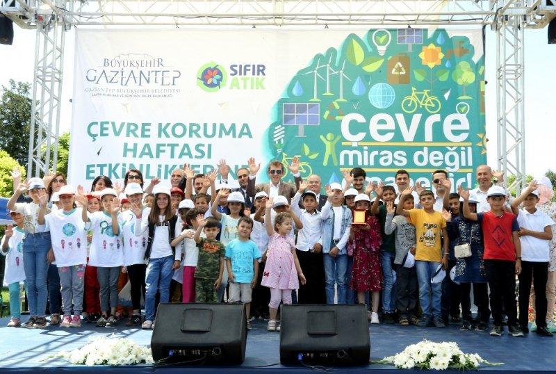 """Büyükşehir'den """"Dünya Çevre Günü"""" etkinliği"""