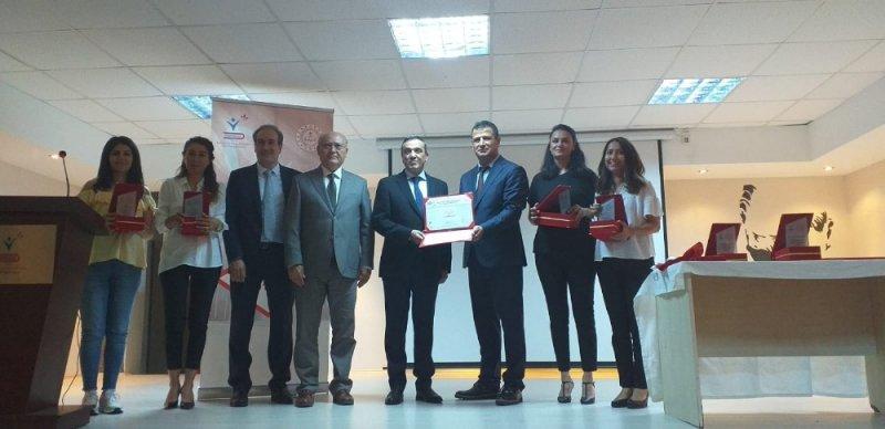 Hasan Polatkan Ortaokulu'na kalite yönetim sistem belgesi verildi