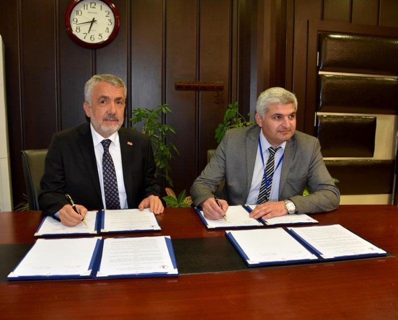 OMÜ ile Gürcistan Gori Devlet Eğitim Üniversitesi arasında eğitim iş birliği