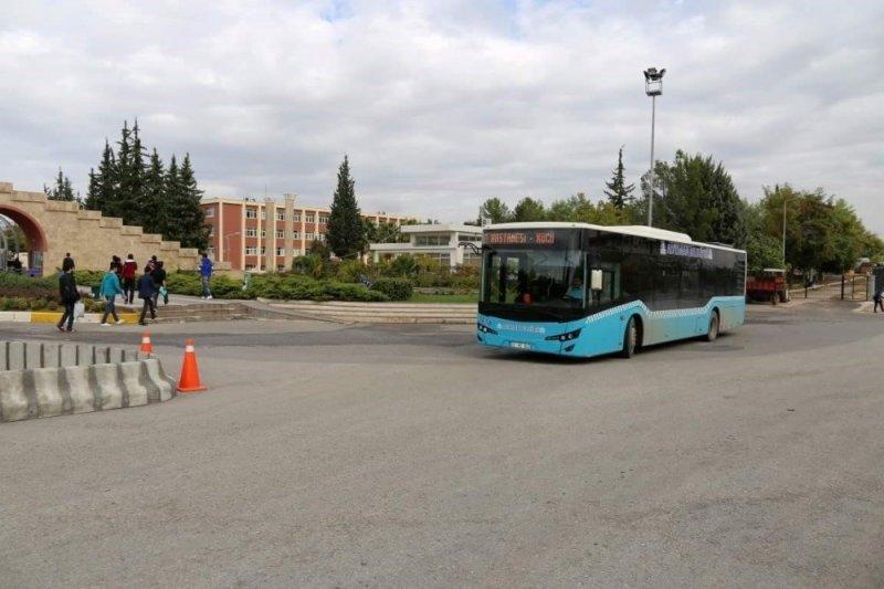 Sınav gününde belediye otobüsleri ücretsiz hizmet verecek