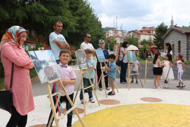 Minik öğrencilerin gözünden Beyşehir fotoğrafları