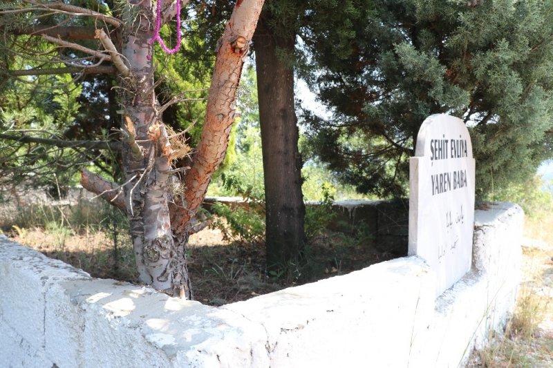 """AK Parti'li Başkan: """"CHP'li yönetim borca karşılık türbeli araziyi sattı"""""""