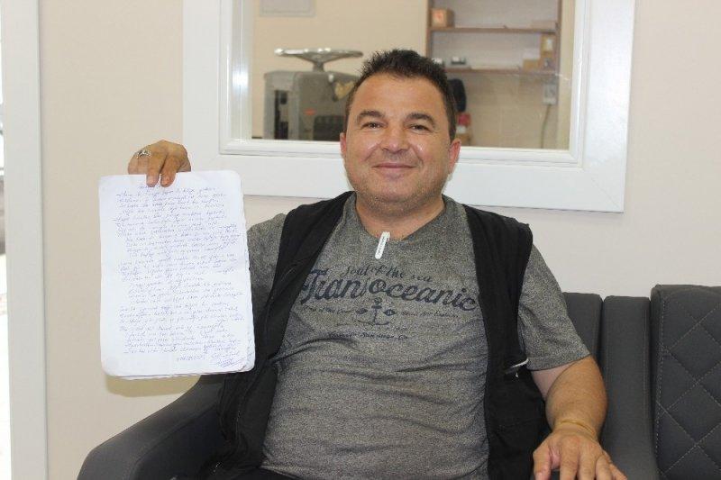 Sinoplu vatandaştan 23 Haziran şiiri