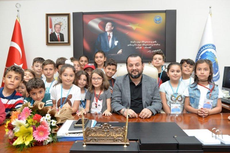 KMÜ çocuk üniversitesi 2019 yaz okulu başladı