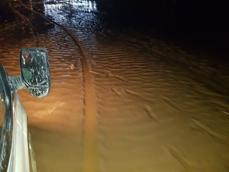 Sel yolu yardı: Yozgat-Ankara Karayolu trafiğe kapandı