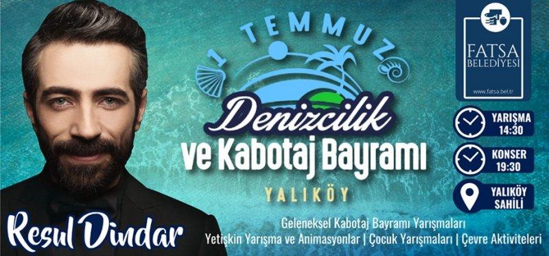Yalıköy Sahili'nde Resul Dindar rüzgarı esecek
