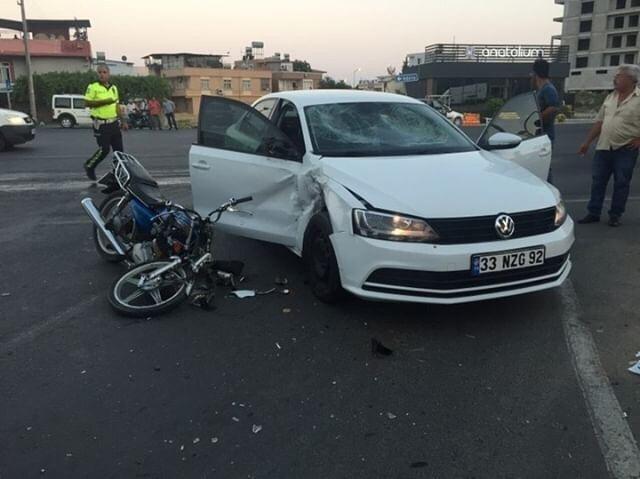 Tarsus'ta 3 ayrı kazada 5 kişi yaralandı