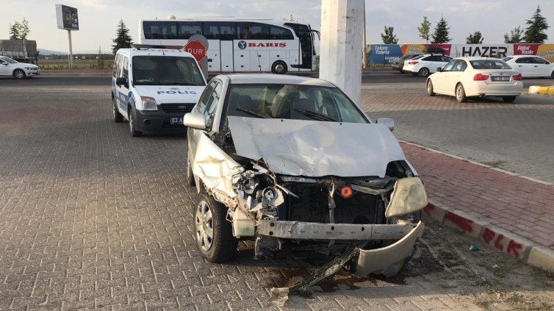 Afyonkarahisar'da 5 araçlı zincirleme trafik kazası: 4 yaralı