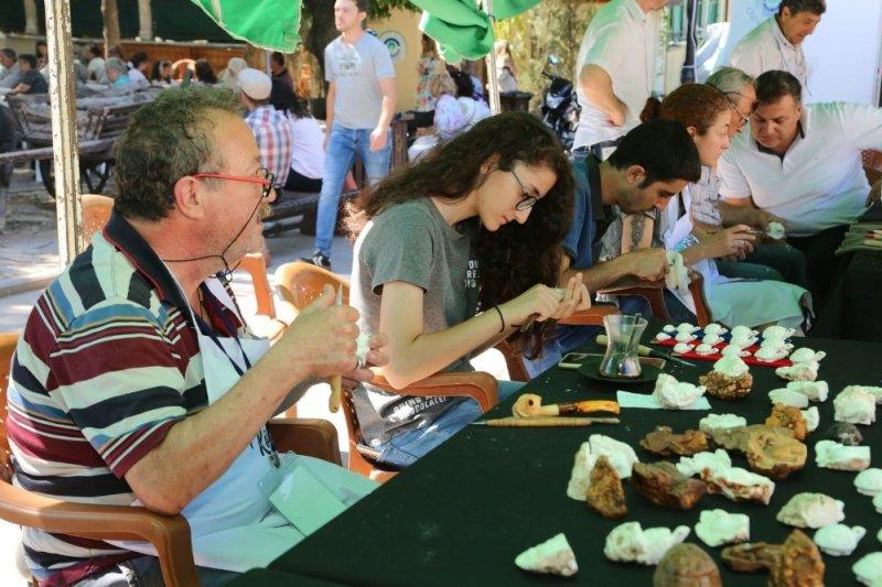 Ulusal Odunpazarı Lületaşı Festivali'nin 2'ncisi düzenlendi