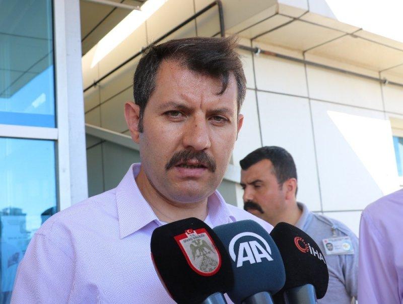 """Sivas Valisinden kene açıklaması: """"Tedirgin olacak hiçbir husus yoktur"""""""