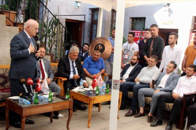 27. TBMM Başkanı İsmail Kahraman Birlik Vakfı'nı ziyaret etti