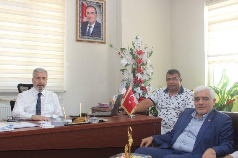 Milletvekili Dülger'den Başkan Yardımcısı Tohumcu'ya ziyaret