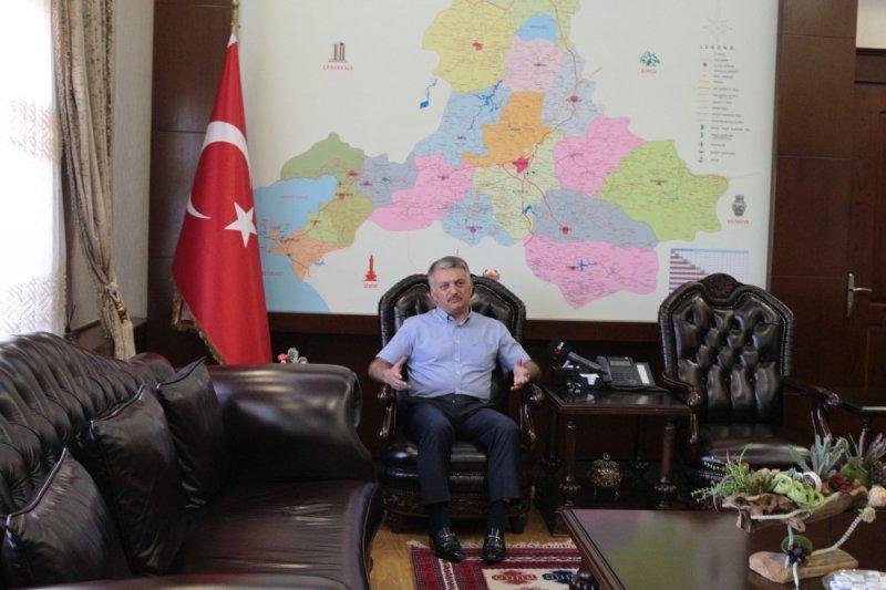 """Vali Yazıcı: """"Tatil için buyurun Balıkesir'e"""""""