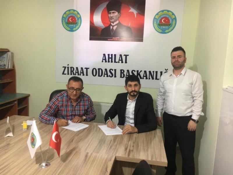 Ahlat Ziraat Odası ve Kuveyt Türk arasında protokol