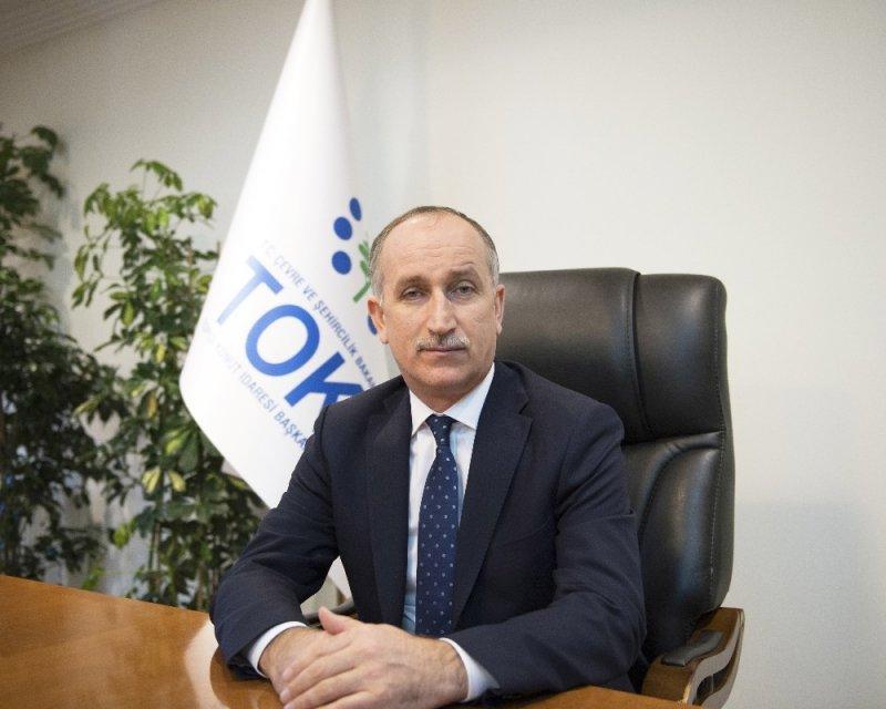 """TOKİ Başkanı Bulut: """"Eskişehirli vatandaşlarımızı daha çok yeşille ve oksijenle buluşturacağız"""""""