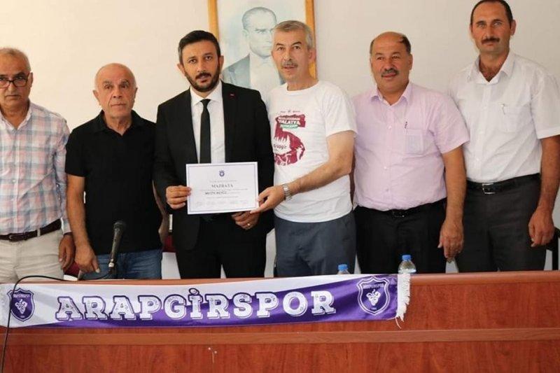Aragirspor'un yeni başkanı Metin Akyüz oldu