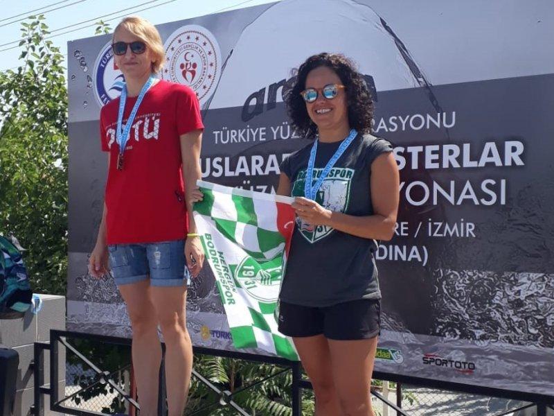 Bodrum'a iki Türkiye rekoru ve 37 madalya ile döndüler