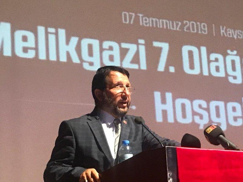 Saadet Partisi Melikgazi İlçe Başkanı Aktaş Güven Tazeledi