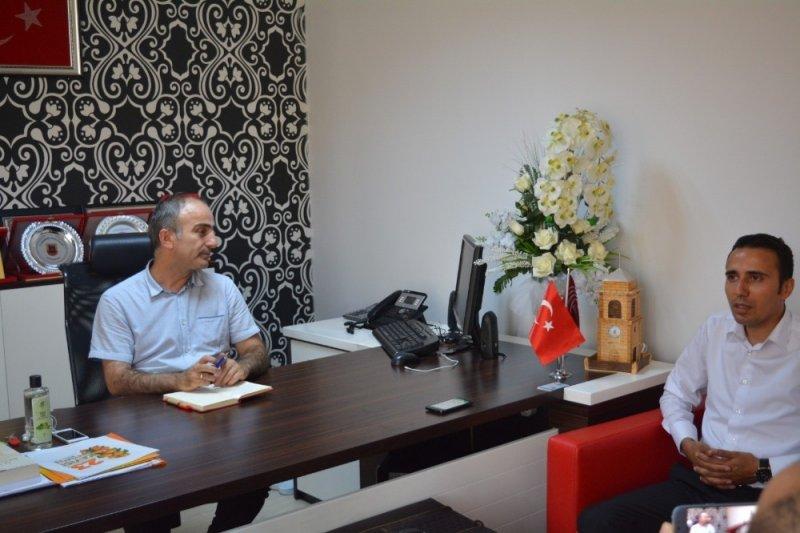 MGTC'den BİK Müdürüne ziyaret