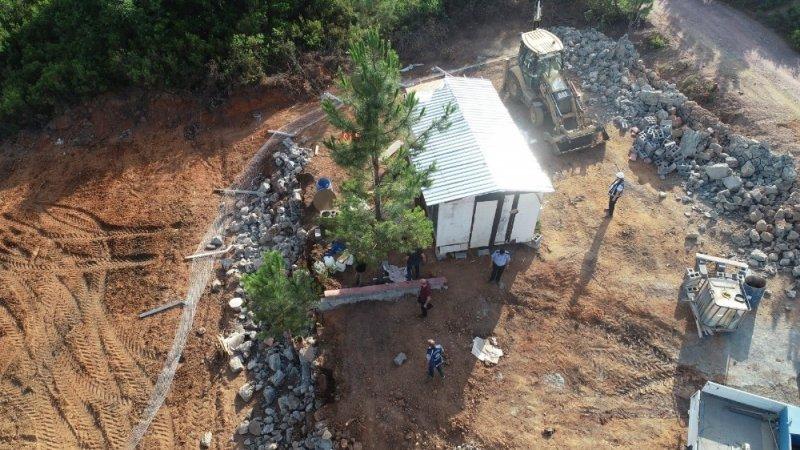 Pendik'te zabıta ekipleri orman arazilerini korumakta kararlı