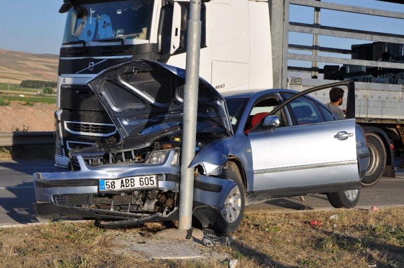 Işıklarda Kaza 1 Yaralı
