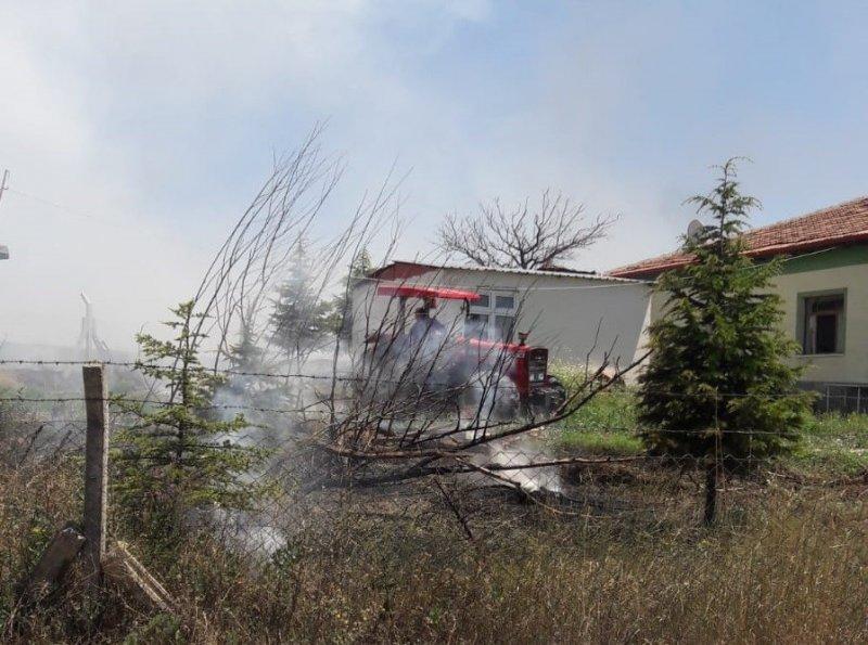 Sungurlu'da dört ayrı yangın