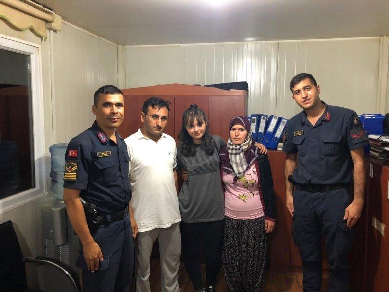 Tarsus'taki kayıp kız bulundu