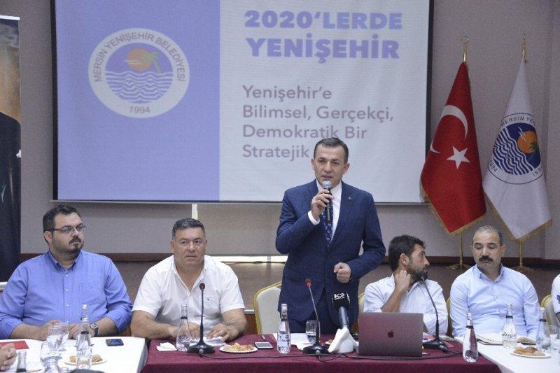 Yenişehir'de stratejik plan hazırlanıyor